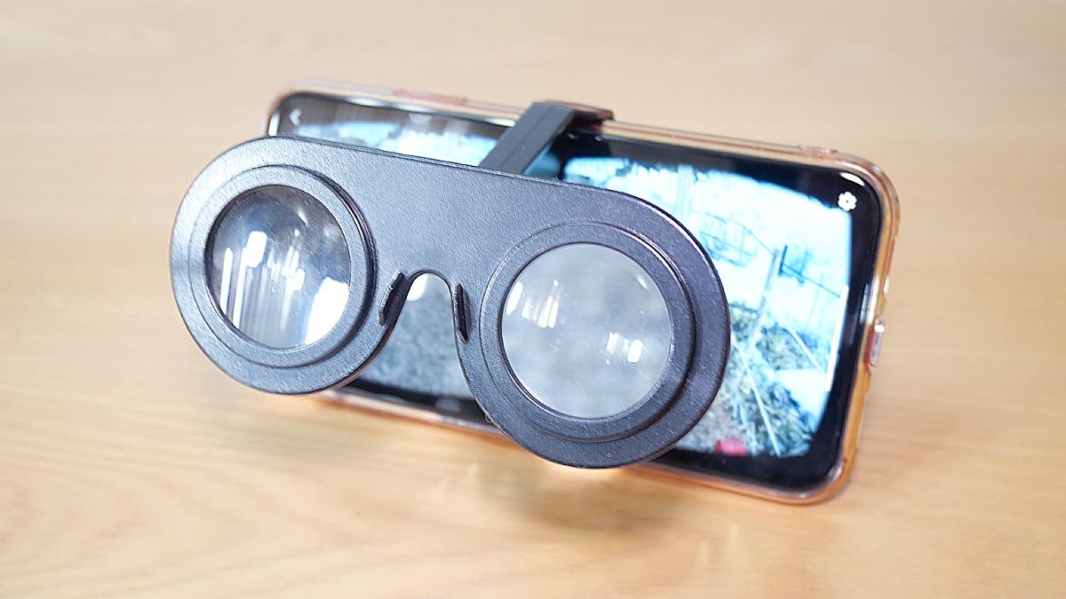 スマホ用VRグラスは100均でも購入できる一番手軽なVR