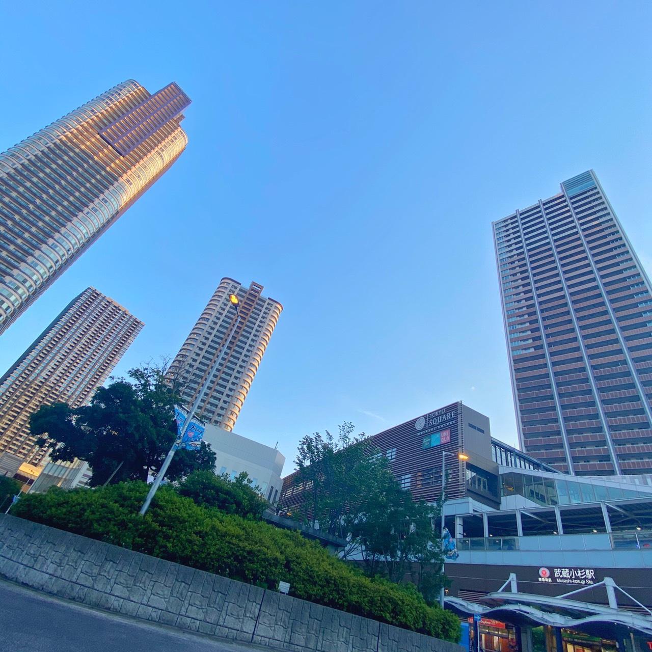 中原区の一大拠点・武蔵小杉駅